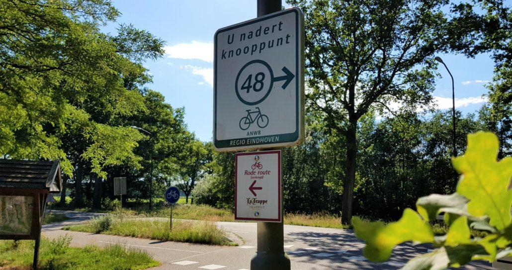 Verlengde rode La Trappe route