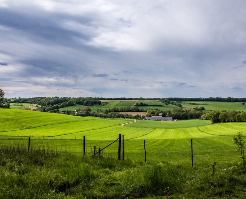 Een dagtocht in Zuid-Limburg; als je van ver kijken houdt.