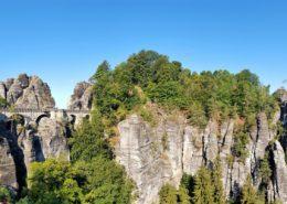 Bastei in de Sächsische Schweiz