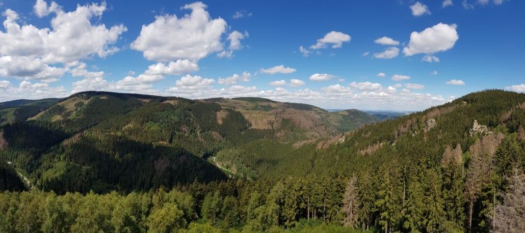 Bergen en dalen in de Harz