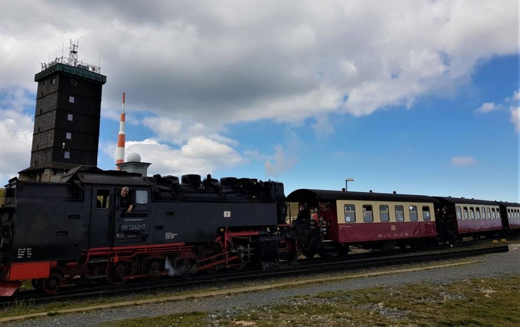 Brockenbahn in de Harz