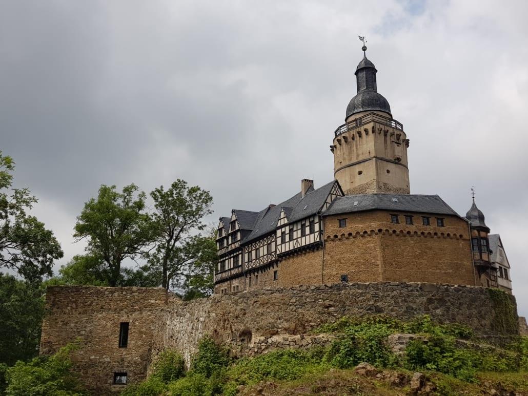 Burg Falkenstein in de Harz