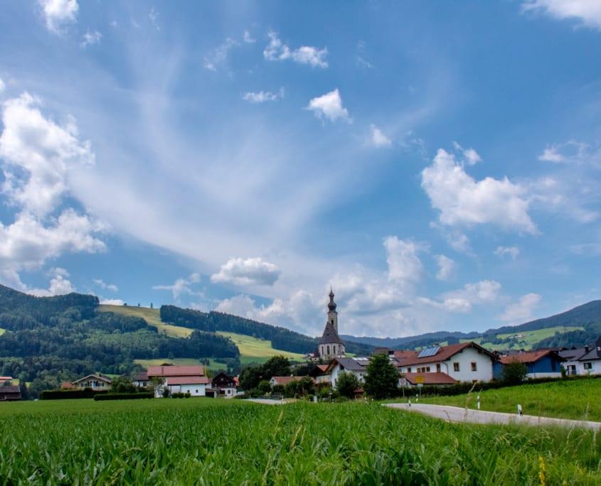 ...en schattige dorpjes op het platteland van Beieren