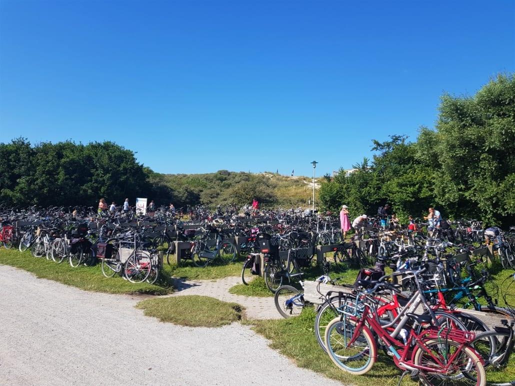 Fietsen is populair op Schiermonnikoog