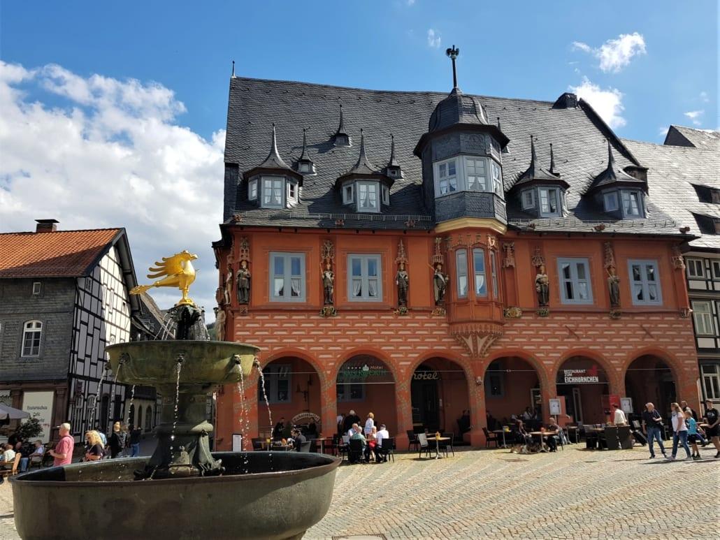 Vakwerk in Goslar