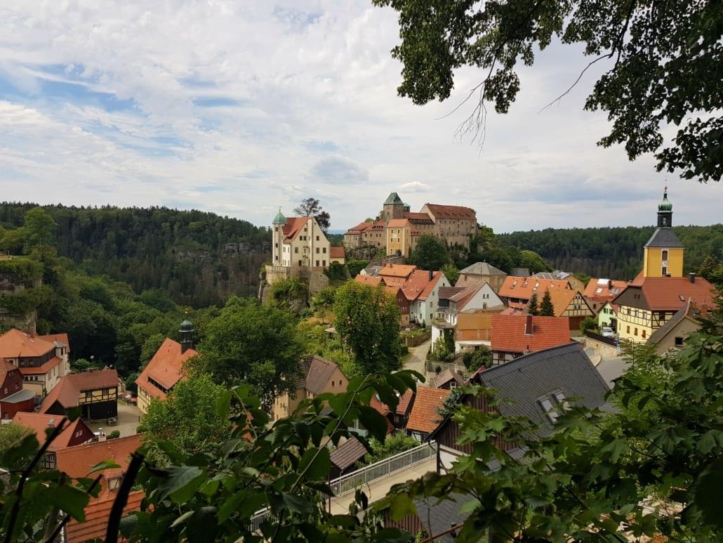 Hohnstein in de Sächsische Schweiz