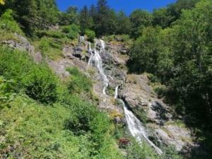 Watervallen van Todtnau