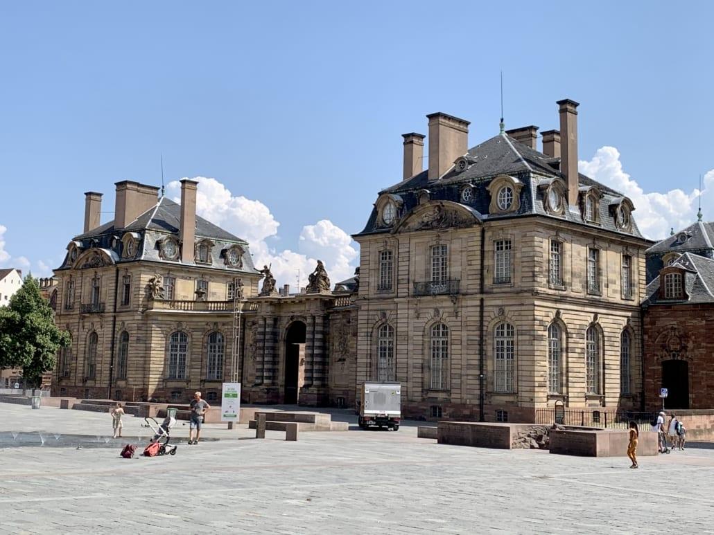Deel van Palais Rohan