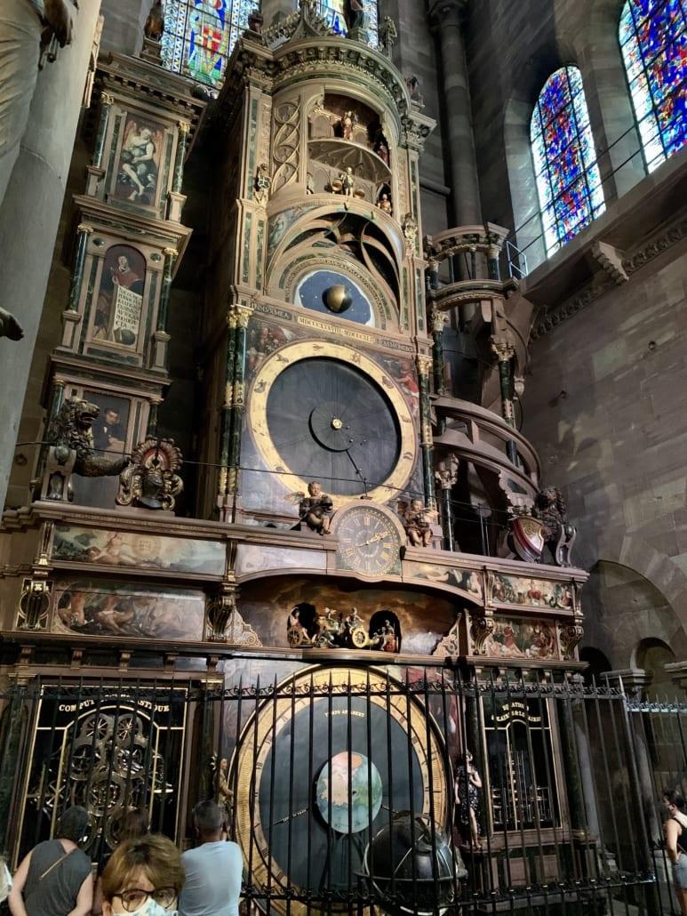Astronomisch uurwerk in de kathedraal