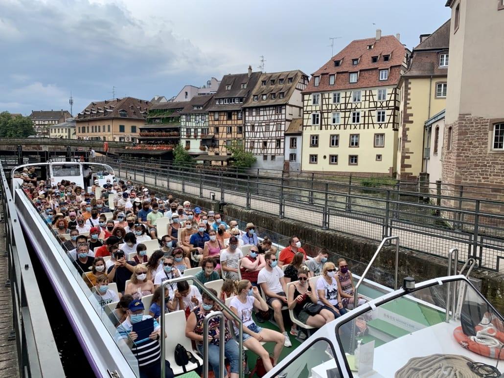 Lekker varen door Strasbourg
