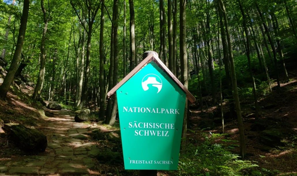 Je komt voor de natuur naar de Sächsische Schweiz
