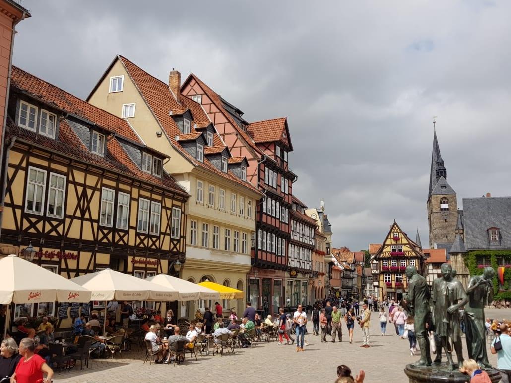 Vakwerk in Quedlinburg