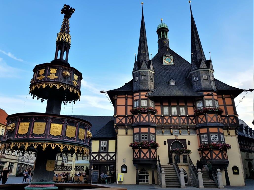 Vakwerk in Wernigerode