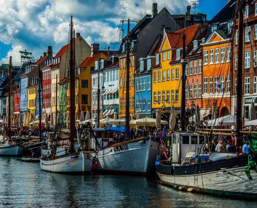 Dat andere bepalende beeld van Kopenhagen: de Nyhavn