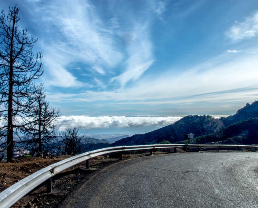 Fraaie uitzichten over Gran Canaria vanuit je autoraampje.