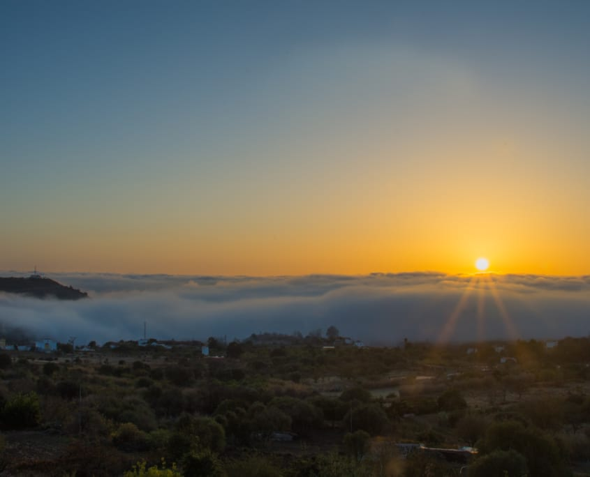 Zonsopgangen waar je voor uit je bed wil komen. Gran Canaria heeft 't.