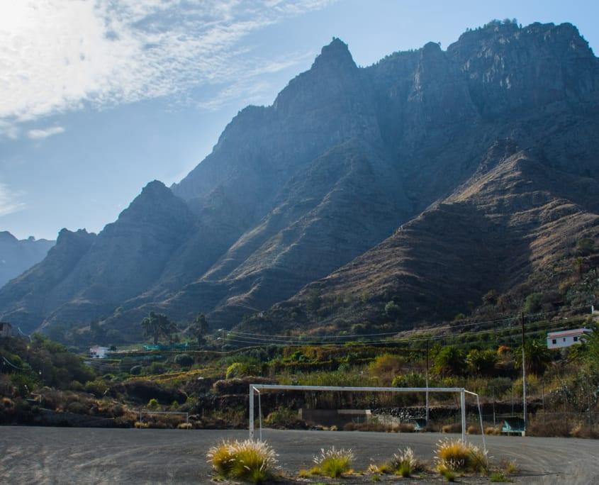Gran Canaria-uit, altijd lastig om er te komen.