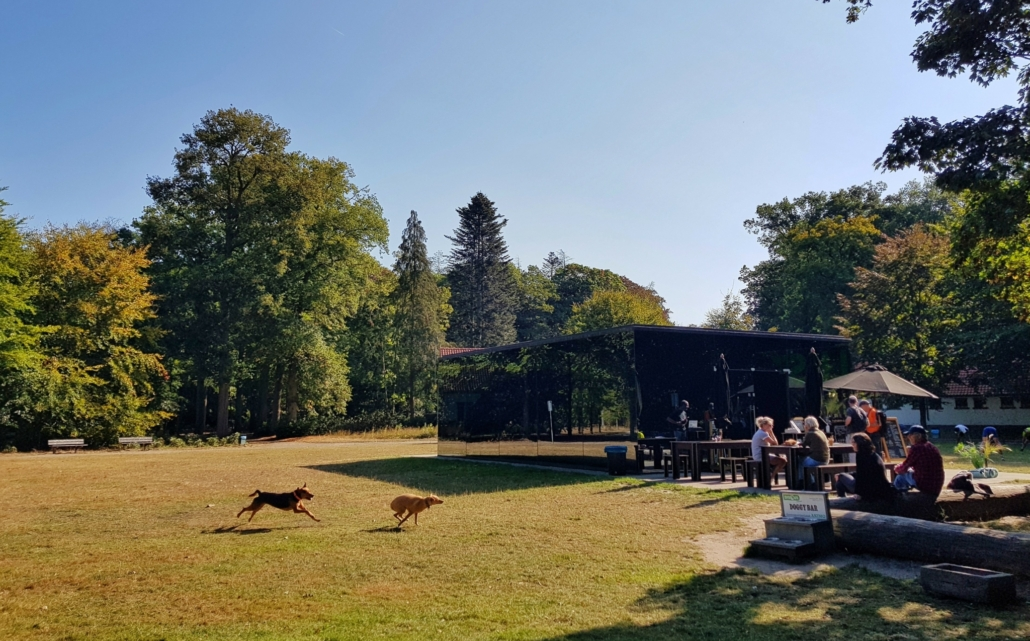 Wandelen rondom Tilburg: Grotto in de Oude Warande