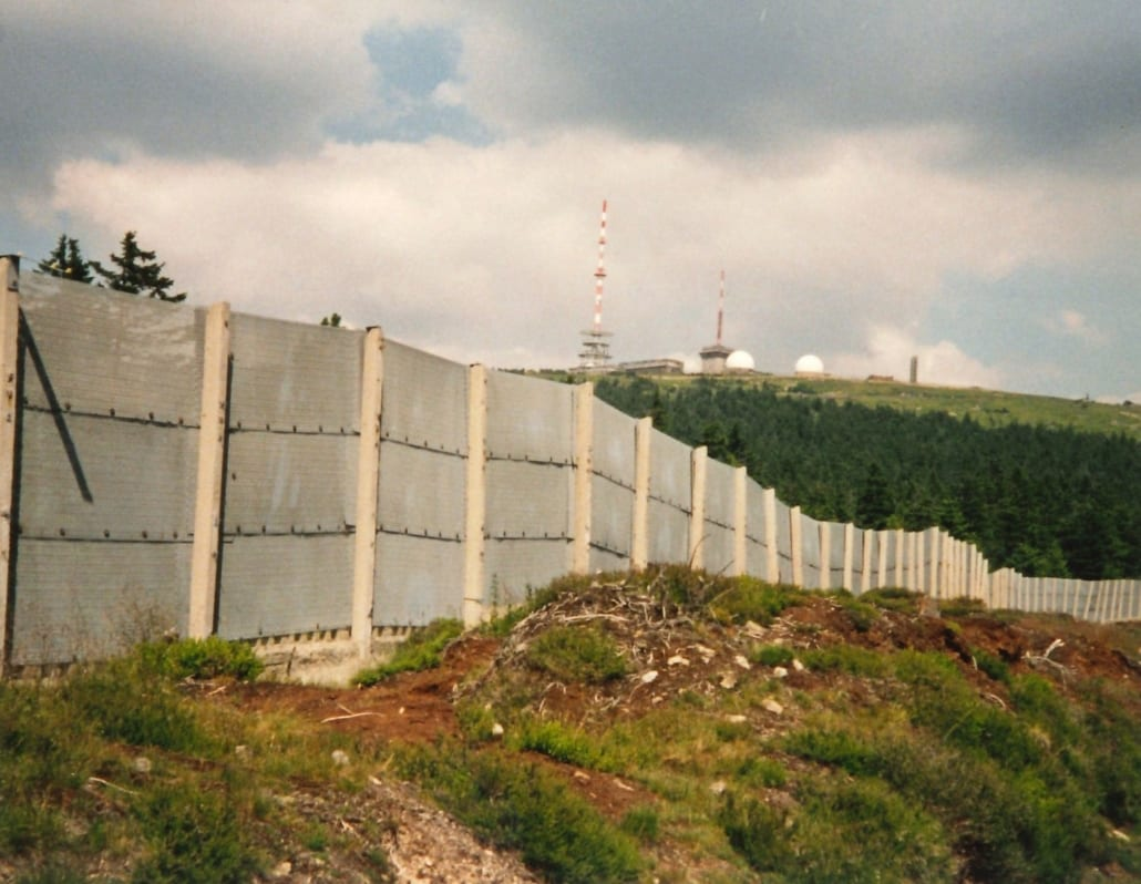 IJzeren Gordijn bij de Brocken in 1991