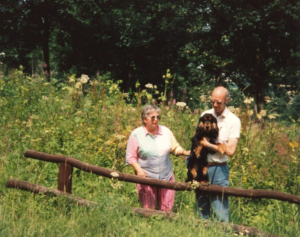 Pa & ma & Benji in de Harz