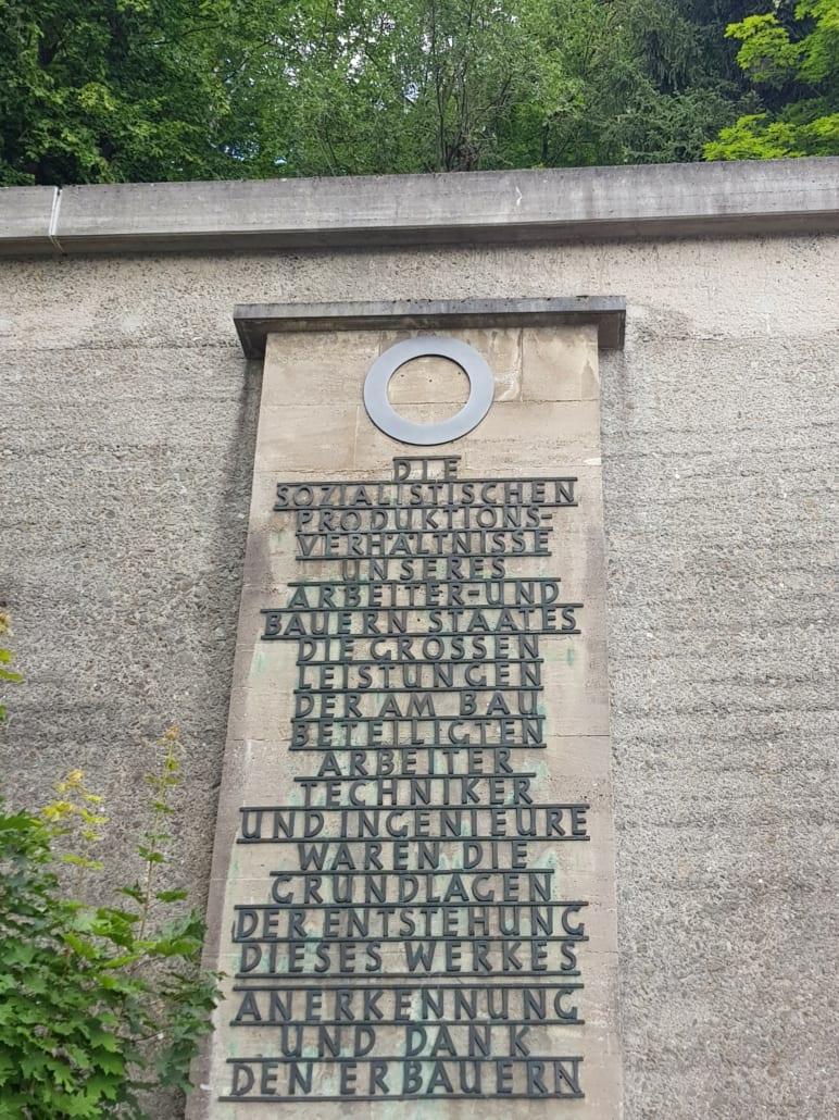 Stukje DDR-verheerlijking in de Harz-deel 2