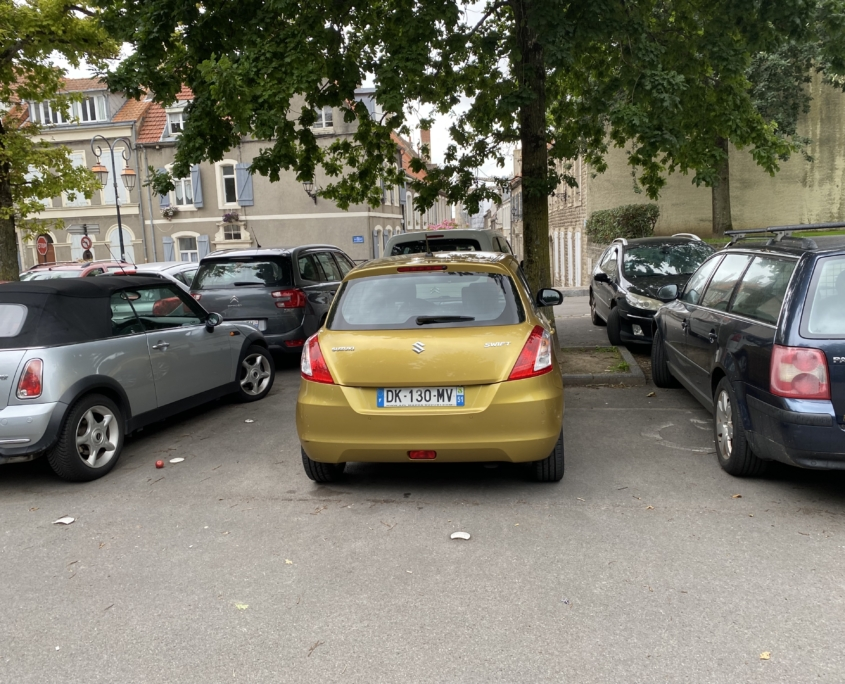 Nog een manier waarop de Fransen geen fuck om jou geven.